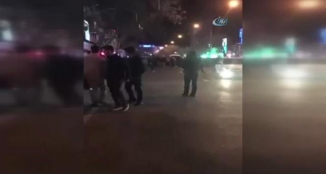 İrandaki protestolarda olay çıktı: 1 ölü, 3 yaralı