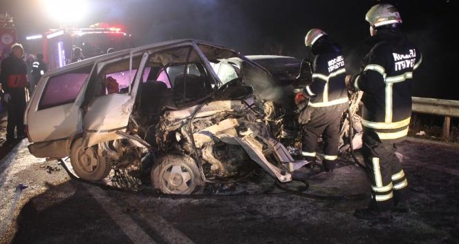 Kocaeli'de ölüm yolunda yine kaza: 2 ölü