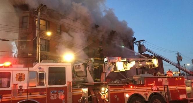 New Yorktaki yangında yaralı sayısı 22ye yükseldi