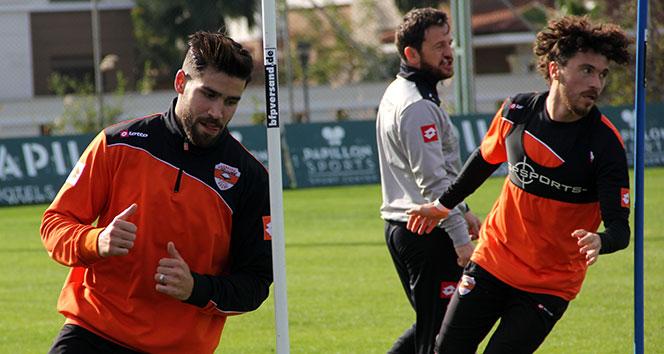 Adanaspor'un devre arası kamp çalışmaları başladı