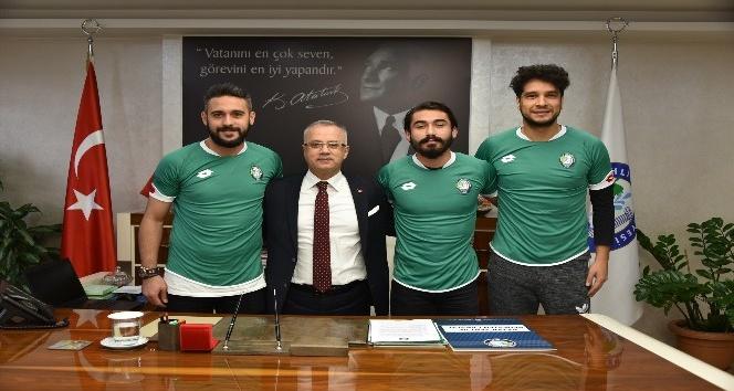 Salihli Belediyespor'dan 3 transfer birden