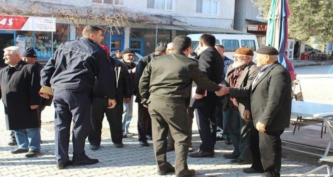 Kaymakam Çifci Yeşilköy halkının taleplerini dinledi