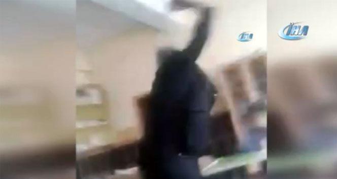 Burdurdaki dayakçı öğretmen serbest bırakıldı