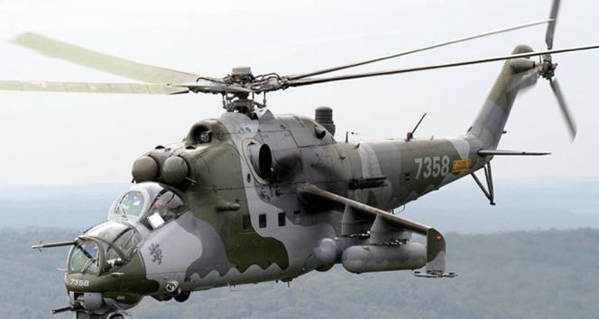 Suriyede Rus helikopteri düştü: 2 pilot öldü