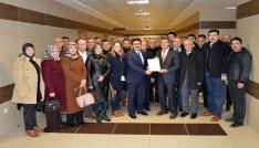 AK Parti Burdur İl Başkan Mengi mazbatasını aldı