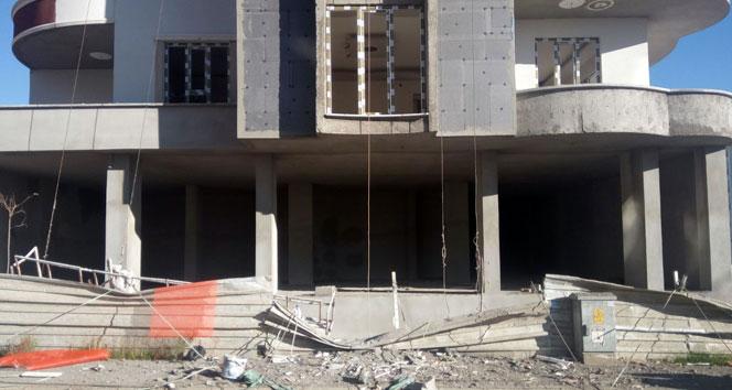 İnşaat işçileri 8inci kattan yere çakıldı: 1 ölü, 1 ağır yaralı