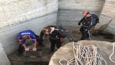 Burdurda su kanalında mahsur kalan45 karabatak kurtarıldı