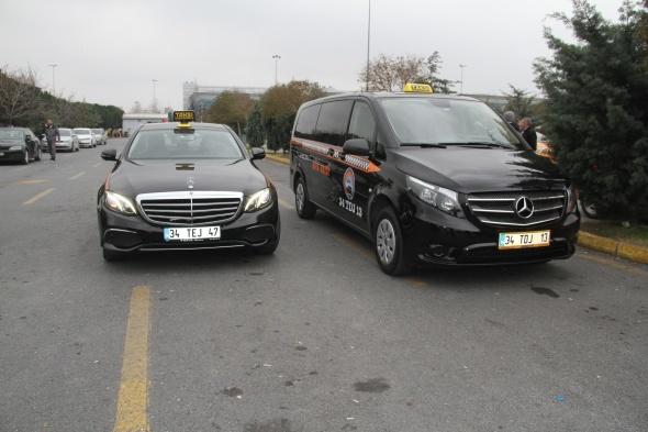350 bin liralık taksi yolcuların hizmetinde! Bakın taksimetre kaç para yazıyor?