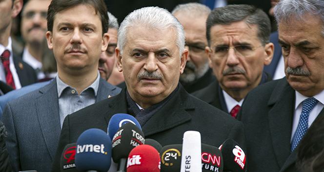 Başbakan Yıldırımdan AYMnin FETÖ sanıklarıyla ilgili aldığı karara ilişkin açıklama