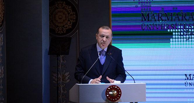Cumhurbaşkanı Erdoğan'dan 'yardımcı doçent' açıklaması