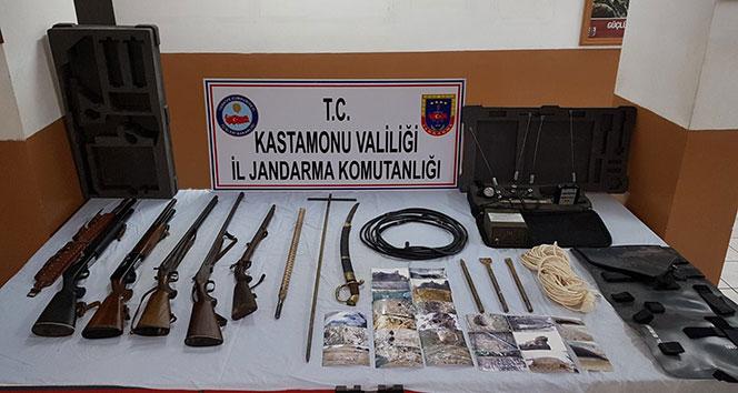Kastamonuda tarihi eser operasyonu: 4 gözaltı