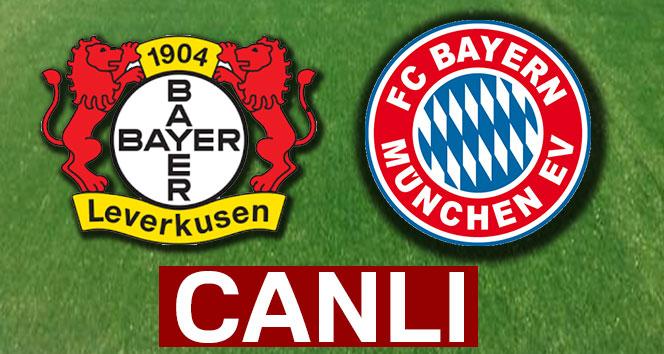 Bayer Leverkusen Bayern Münih şifresiz veren yabancı kanallar hangileri! Leverkusen Bayern Münih İdman tv canlı izle