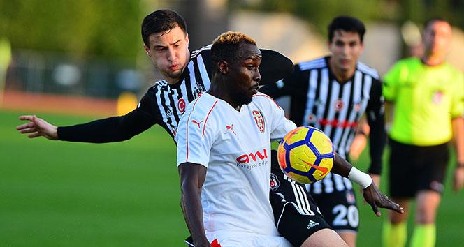 Beşiktaş, Skenderbeu'yu 3-2 yenerek kampı tamamladı