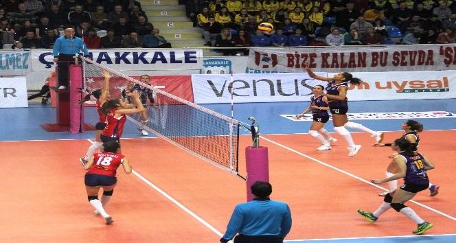 Vestel Venus Sultanlar Ligi: Çanakkale Belediyespor: 1 - Nilüfer Belediyespor: 3