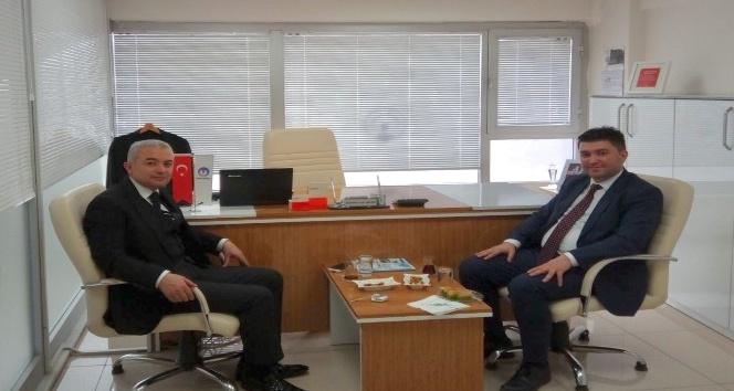 Turgutlu Kaymakamı Uğur Turan, Gediz Elektrik'i ziyaret etti