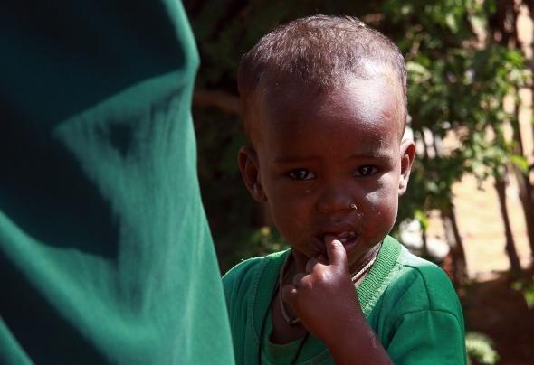 Afrika'da çocuk olmak!