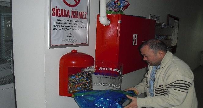 İzmit'te atık pillerle mücadele sürüyor