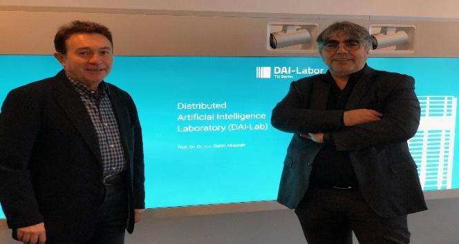 Rektör Sabuncuoğlu'ndan Almanya'da 'Akıllı Sistemler' toplantısına katıldı