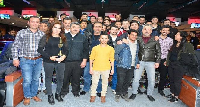 Şanlıurfa'da gazeteciler bowling turnuvasında buluştu