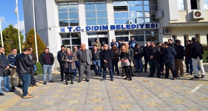 Didim'de mimar ve mühendislerin belediyeye tepkileri sürüyor
