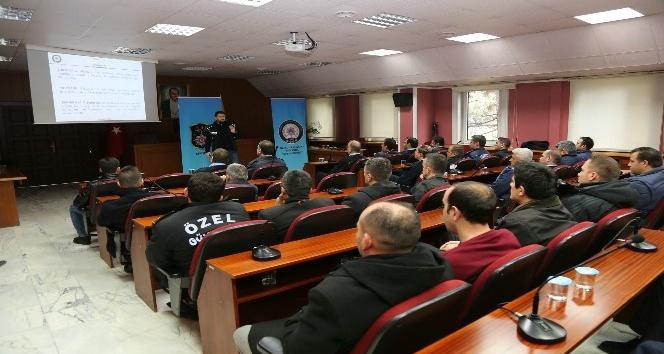 Narkotikten zabıta ve özel güvenlik görevlilerine eğitim