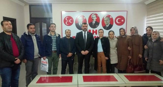 MHP İl Başkanı Avşar, taşeron işçilerin sorunlarını dinledi