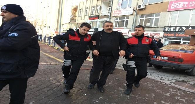Kayseri'de silahla yaralama