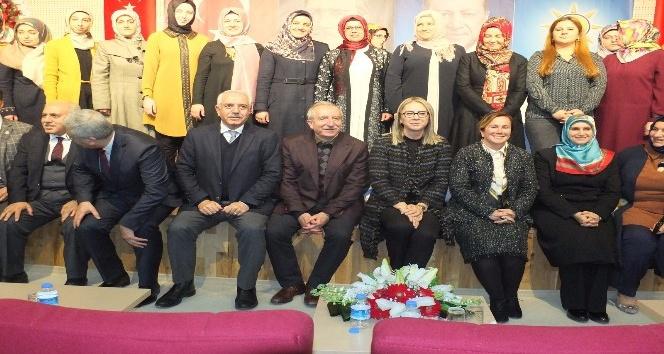 AK Parti Artuklu İlçe Kadın Kolları Kongresi yapıldı