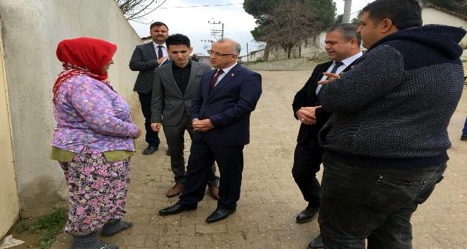 Başkan Kayda Mevlütlü'de vatandaşlarla buluştu