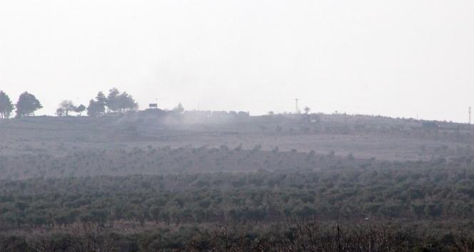 TSK, Afrinde PYD mevzilerini vurmaya başladı!