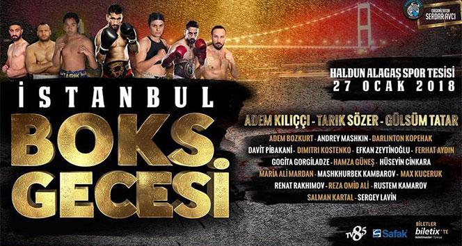 İstanbul dev boks galasına hazırlanıyor