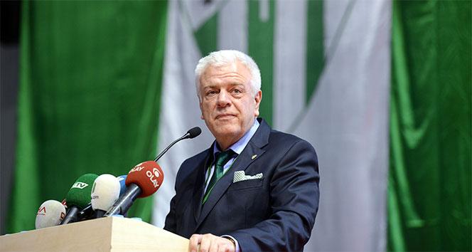 Bursaspor Başkanı Ali Ay: 'Mali anlamda sıkıntılıyız'