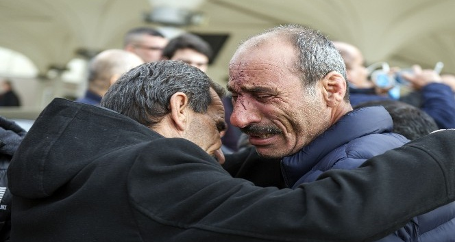 Şırnak'taki kazada ölen 9 Iraklı Ankara'da toprağa verildi