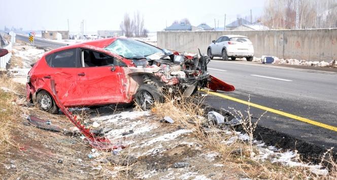 Patnosta trafik kazası: 2 yaralı