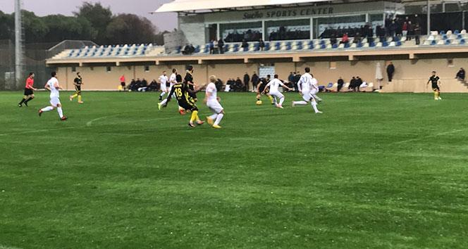Evkur Yeni Malatyaspor, Arnavutluk temsilcisi Luftetarı'yı 3-1 yendi