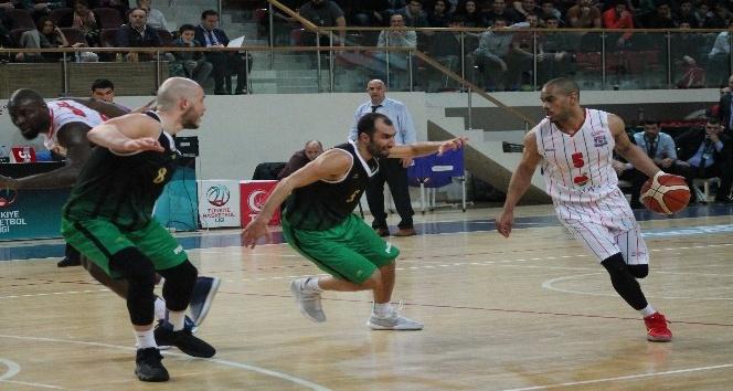 Türkiye Basketbol Lig: Yalova Group Belediyespor: 104 - Akhisar Belediye: 101