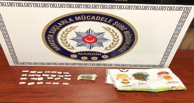 Uyuşturucu madde taciri 2 kişi tutuklandı