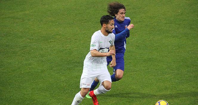 Karabükspor hazırlık maçında Akhisara 1-0 mağlup oldu