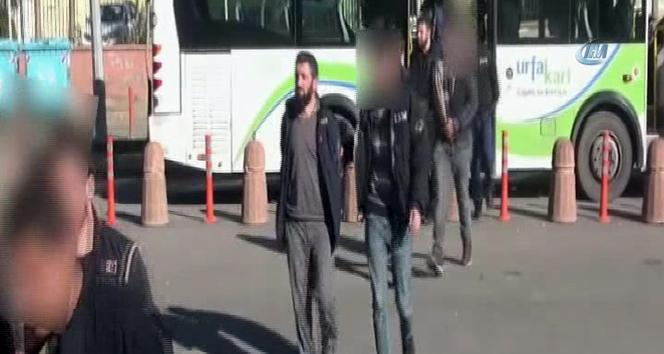 Şanlıurfada terör operasyonunda 7 tutuklama