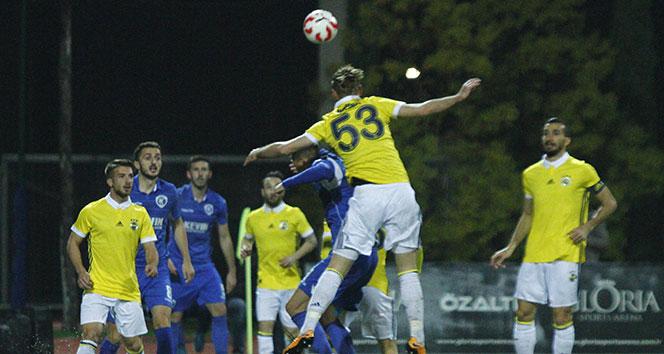 Fenerbahçe Arnavut ekibiyle 2-2 berabere kaldı