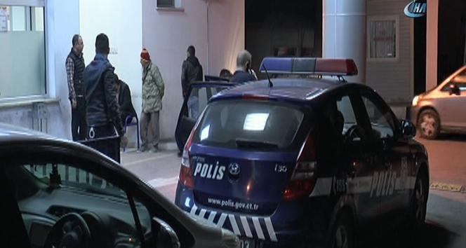 Otel inşaatında boya yaparken beton zemine düşen işçi öldü