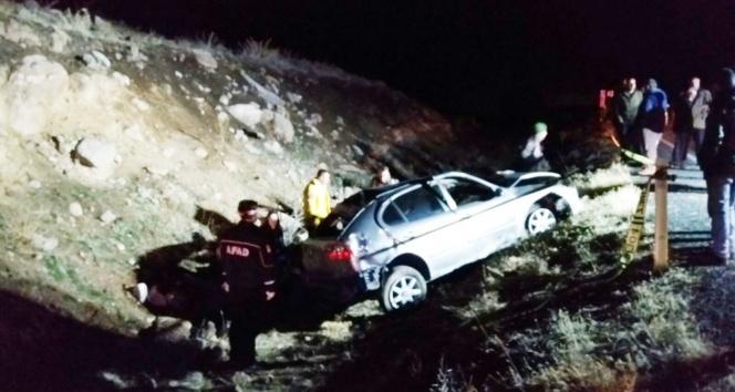 Niğdede otomobil takla attı: 2 ölü, 2 yaralı | Niğdede kaza | Niğde haberleri