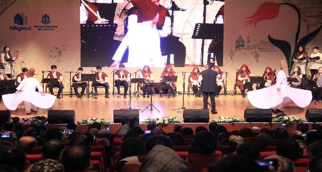 Başakşehir'de ney konseri ve ebru sergisine yoğun ilgi