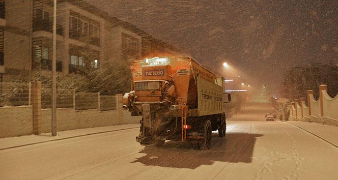 Tepebaşı Belediyesi kar ile mücadeleye hazır