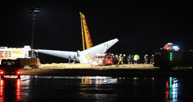 Pegasus Havayolları Trabzon'da pistten çıkan uçakları ile ilgili açıklama yaptı