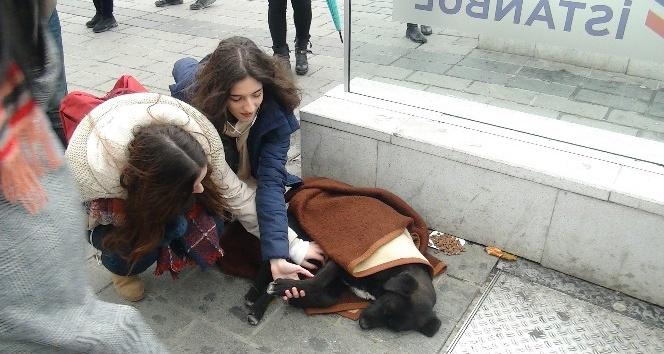 (Özel) Taksim Metrosunda duygulandıran görüntü