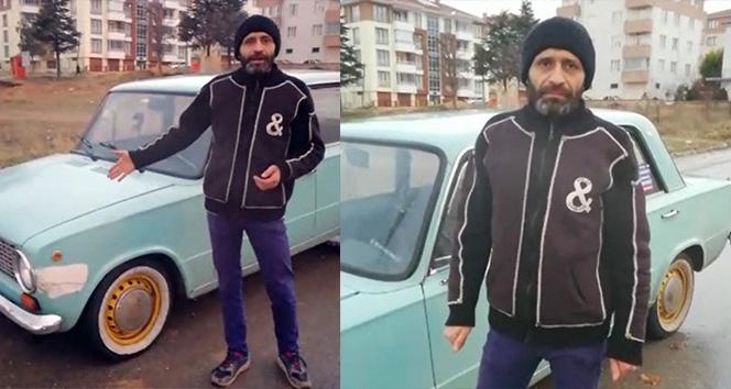 Muayeneden geçemeyen Murat 124 sahibinin videosu izlenme rekoru kırıyor