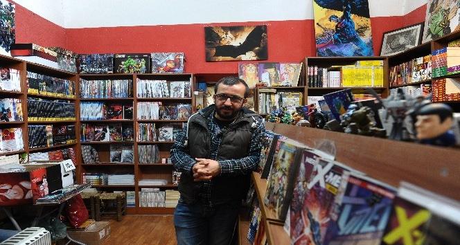 Bursa'da çizgi romanın tek adresi