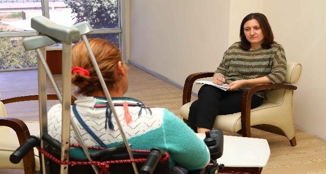 Bayraklı'da engellilere psikolojik destek