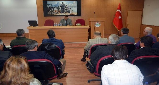 1. Aydın Tarım İstişare toplantısı gerçekleştirildi